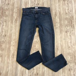 Hudson Jeans Gia Mid Rise skinny jeans